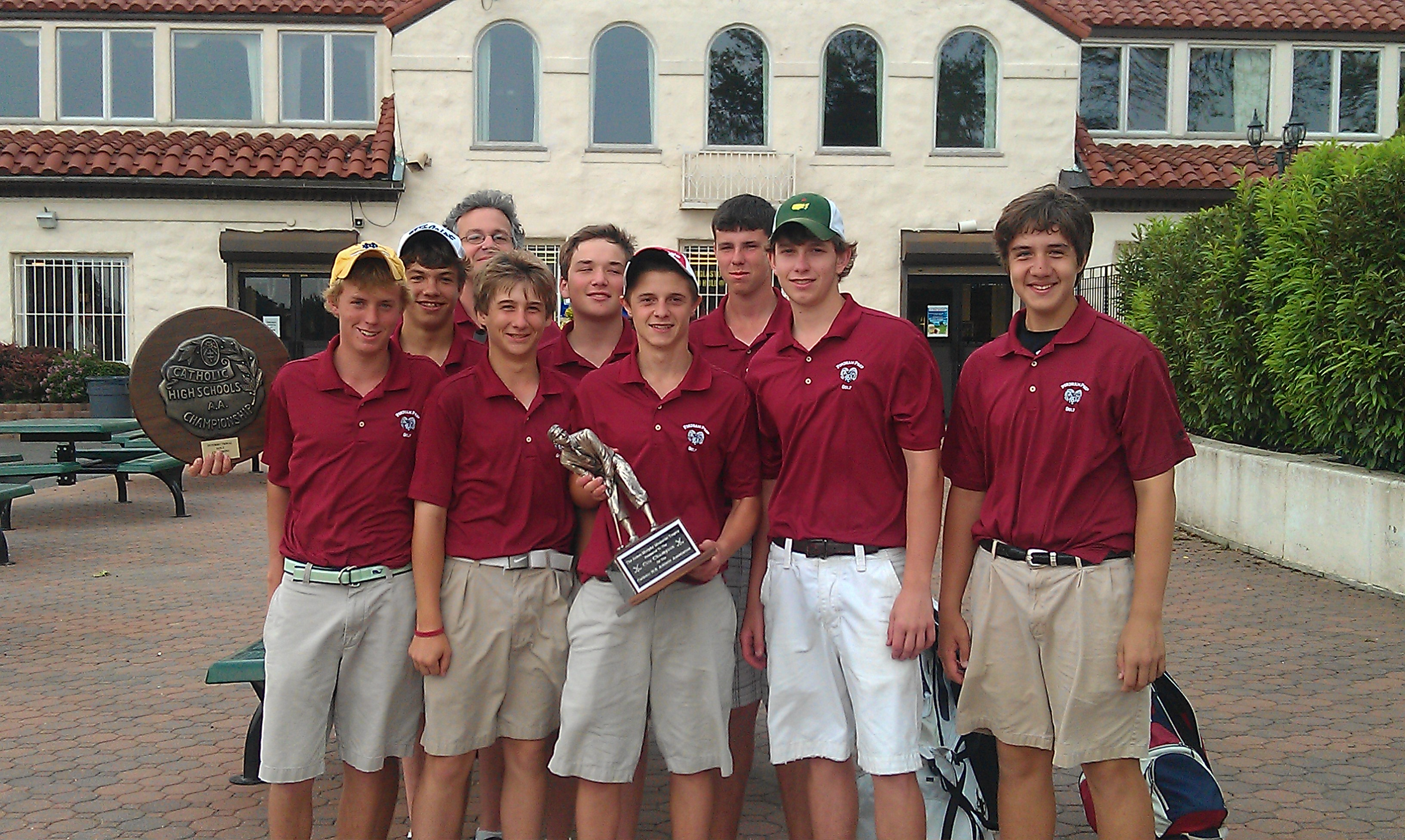 Champion Driving School >> Fordham Preparatory School: Golf